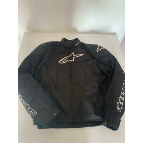 Alpinestars T-Jaws wp jacket zwart/wit