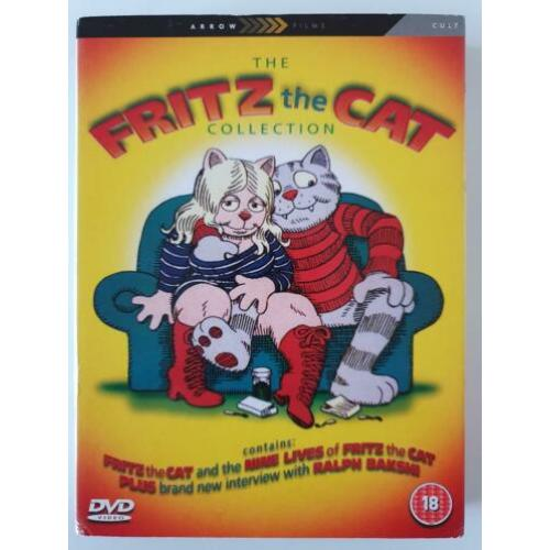 The Fritz the Cat Collection (3-Disc, uit 1972/1974)
