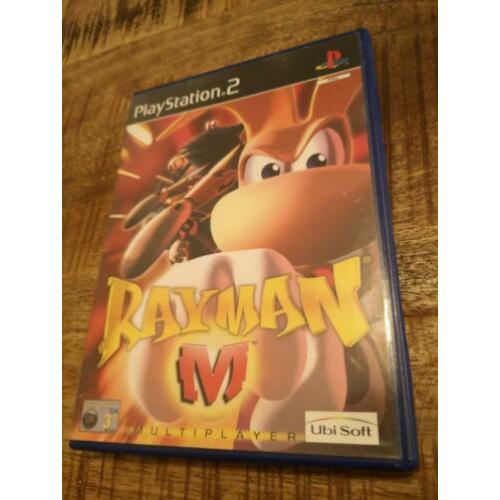 Rayman M multi-player Playstation 2 Ps2