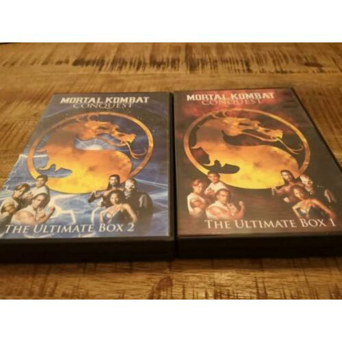 Mortal kombat conquest DVD box 1 en 2 6DVD