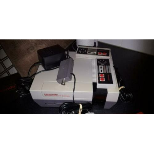 Nintendo nes complete set. is 100%