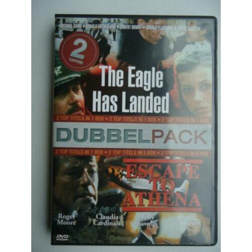 Dubbeldvd The Eagle has landed, Escape to Athena