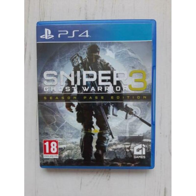 Sniper 3 ghost warrior ps4 game playstation