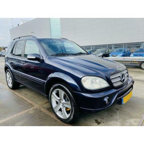 Mercedes-Benz M-Klasse ML 55 AMG 347 pk Edition Leder Navi