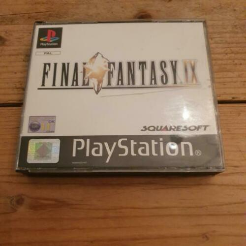 Final Fantasy 9 black label playstation 1