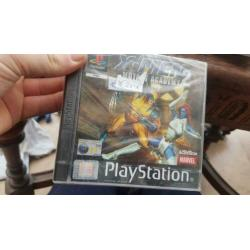 X men 2 playstation one in de seal