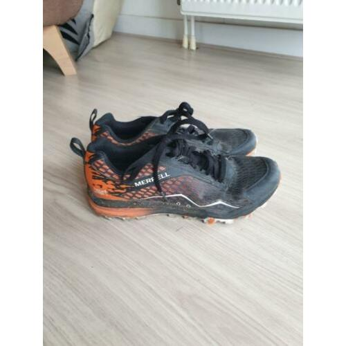 Merrell tough mudders mud running trail shoes 40