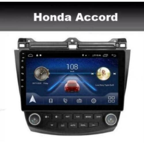 Honda Accord 2003-2007 navigatie android 9 wifi dab+ carplay