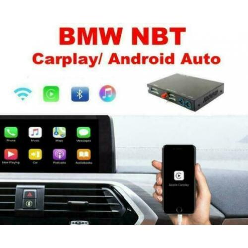 BMW NBT Carplay AndroidAuto Achteruitrijcamera interface USB