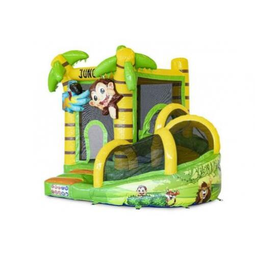 Te koop Springkussen Mini met Slide Jungle