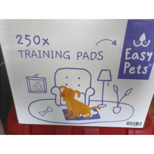 Easypets training pads large 240 stuks €20