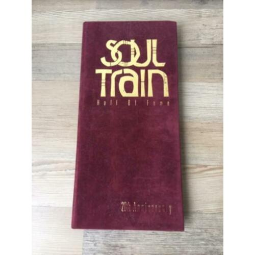 Soul Train Hall Of Fame 20th Anniversary 3 cd Book Set 1994