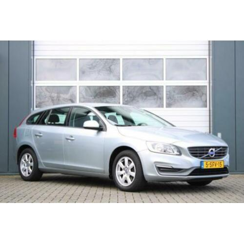 Volvo V60 1.6 D2 Kinetic Clima/Cruise/Navi/PDC/Bluetooth/LED