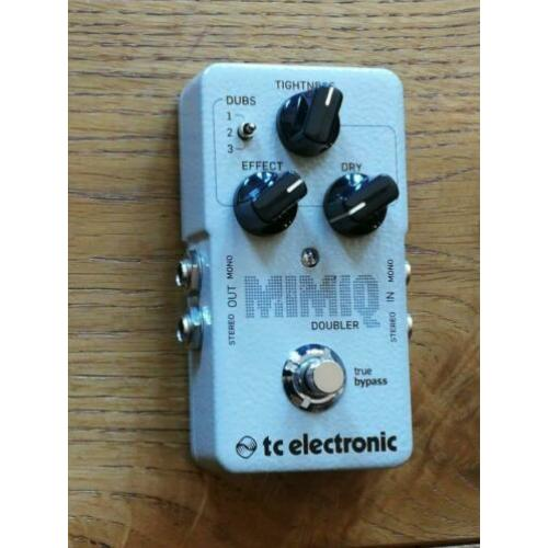 TC Electronic Mimiq Doubler effectpedaal (delay)