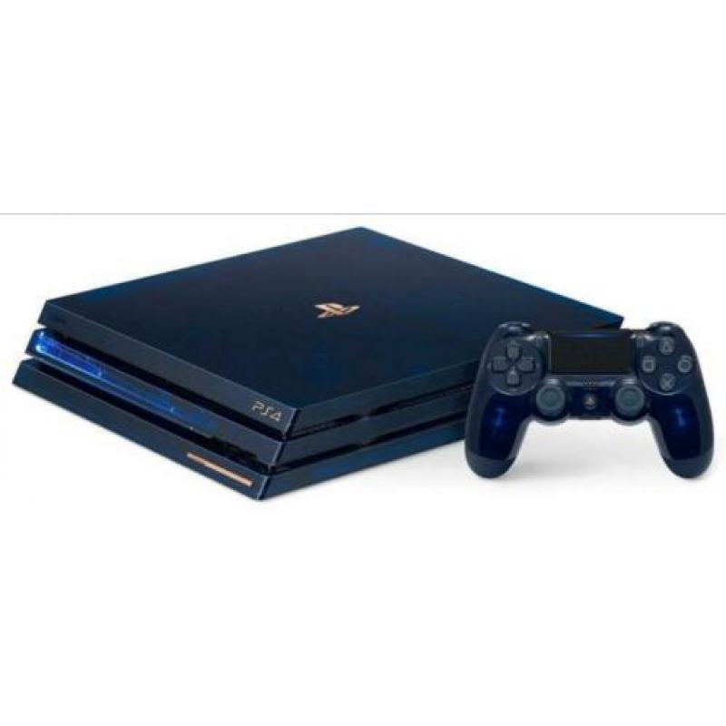PS4 500 million editie, PlayStation 4 limited editie nieuw